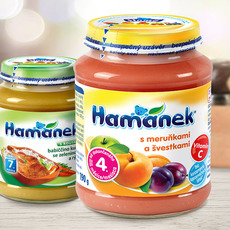 At the National Food Collection, we donate more than 3,000 pieces of Hamámek baby food